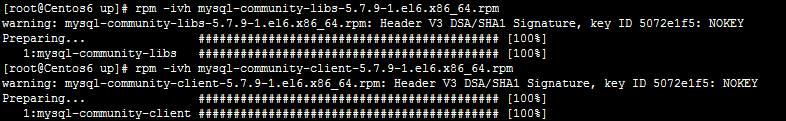 安装lib成功,安装client也成功