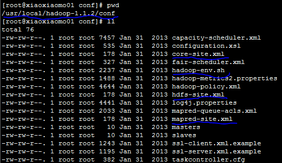 修改配置文件