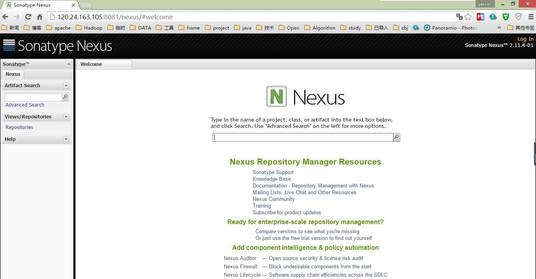 Nexus私服安装完成