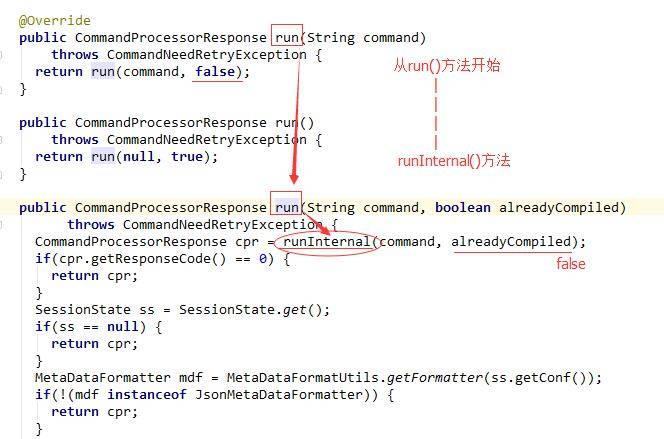 从run()方法 到 runInternal()方法