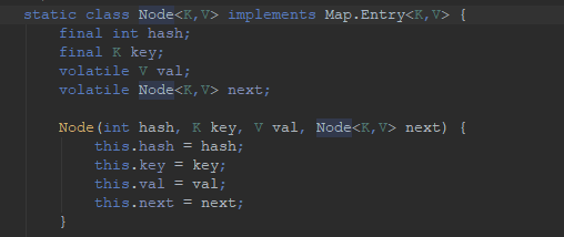 Java8 ConcurrentHashMap结构